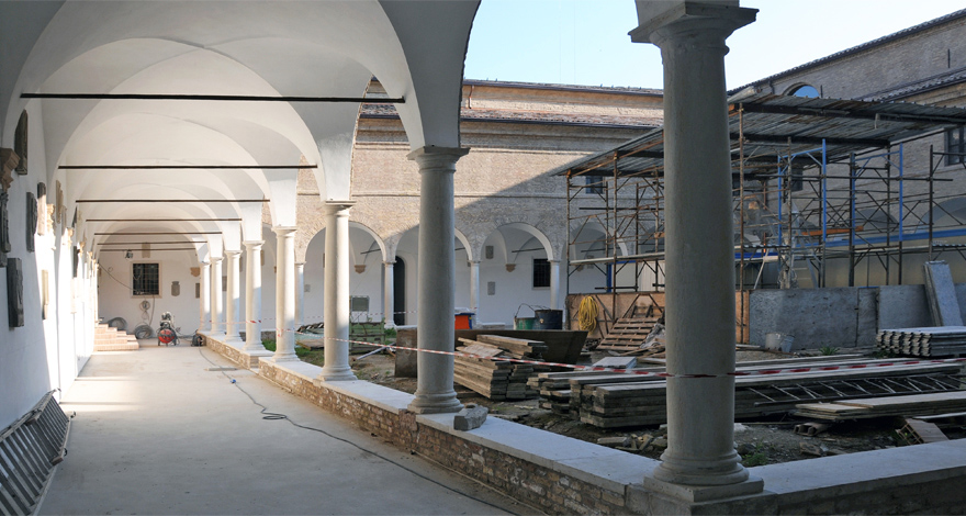 Renovation of Franciscan Cloisters